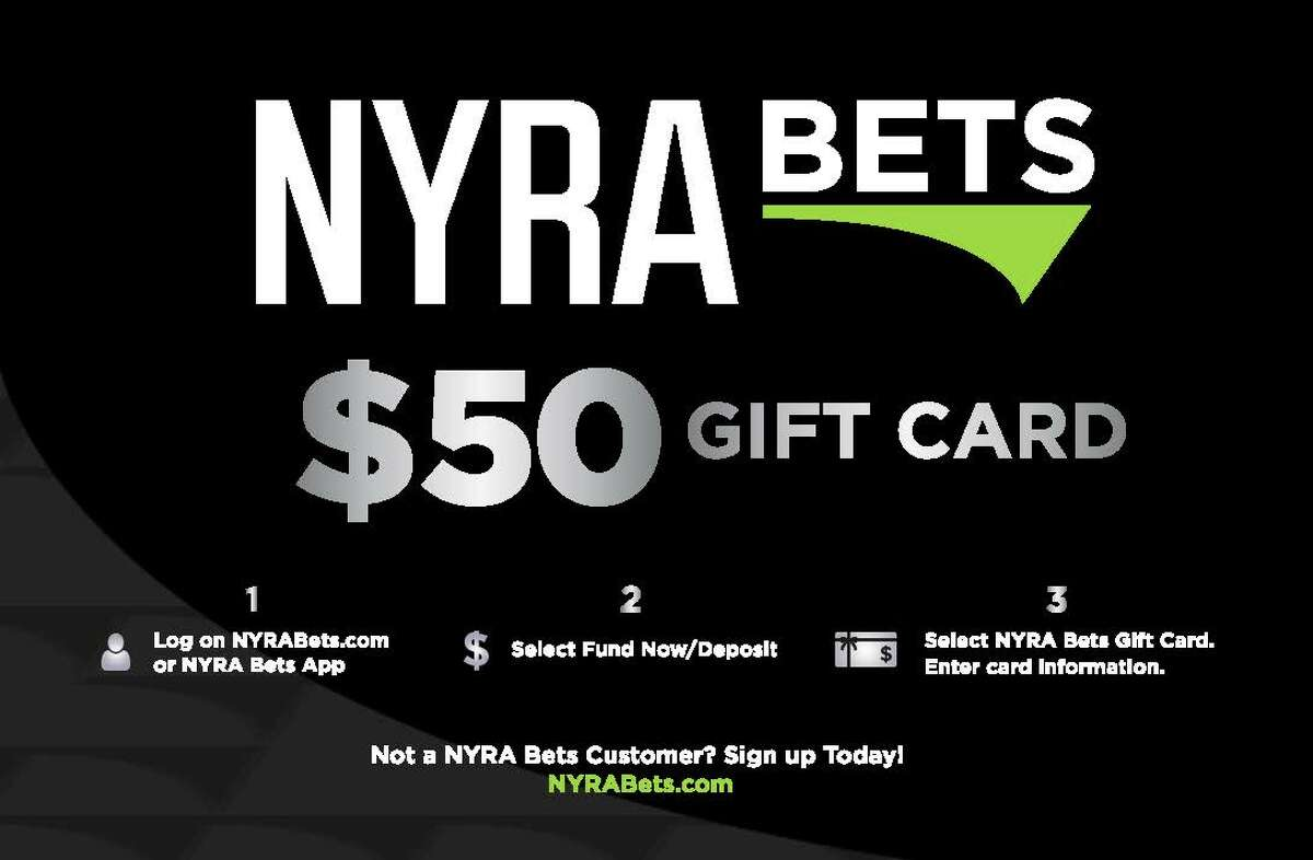 NYRA Bets is a gift card you can buy at Stewart's Shops.