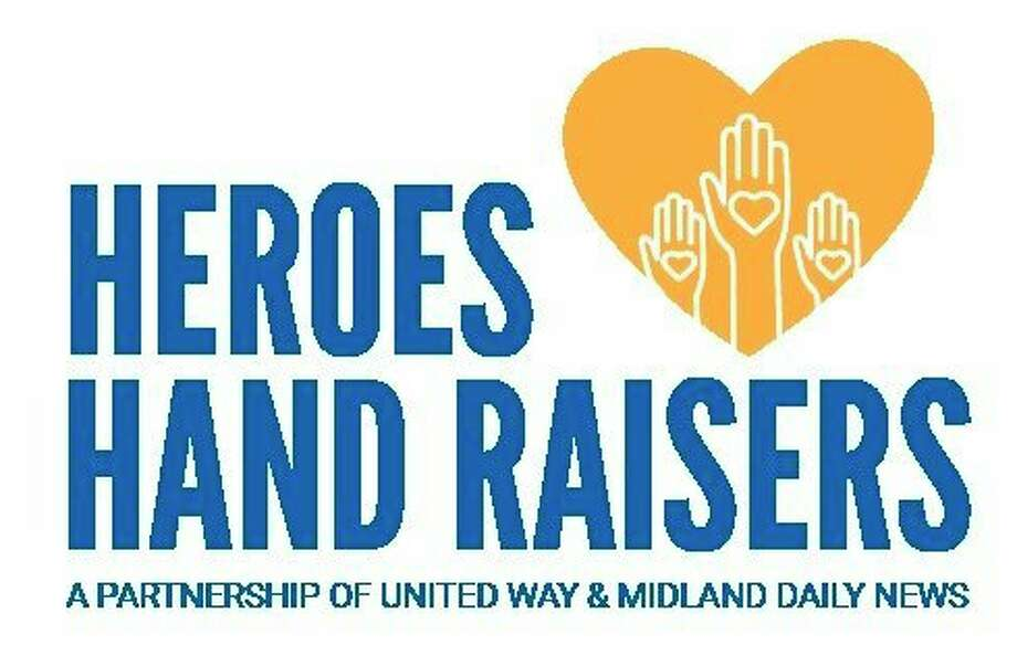 """""""Heroes and Hand Raisers"""" is a new series created by United Way of Midland County in partnership with Midland Daily News. Each week, snapshots of volunteerism and human generosity -- via quotes, photos, snippets and stories -- will shine a spotlight on those who are impacting our community by raising their hand to help meet the needs of their neighbors."""