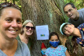 Were you Seen at Mohawk Hudson Land Conservancy's Summer Hike-a-thon Scavenger Hunt on July 18-21, 2020?
