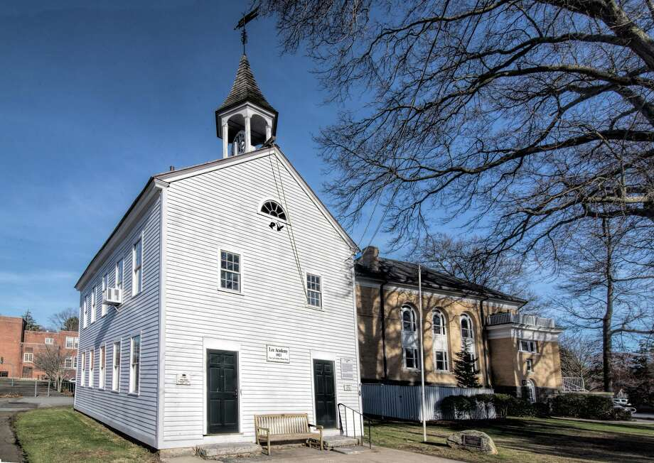Constructed in 1821, Lee's Academy once served as a college preparatory school and now houses the administrative offices of the Madison Historical Society. Photo: Madison Historical Society / Contributed Photo / ALL RIGHTS RESERVED