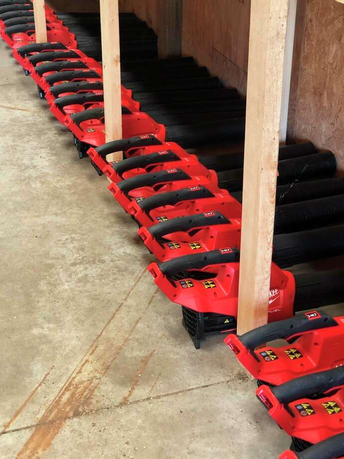 Greater Michigan Construction Academy (GMCA) received five pallets of new tools donated by Milwaukee Tools. (Photo provided)