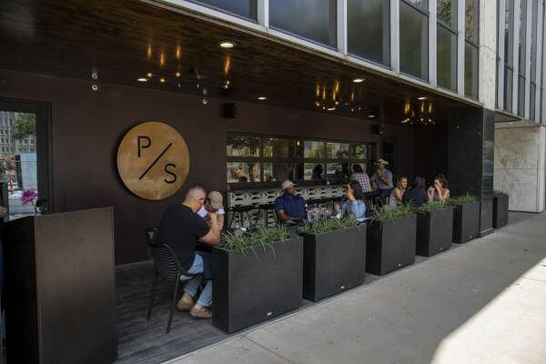 Pi Social has a window that opens from the bar to the outdoor seating area. Local eateries provide outdoor seating which is considered a moderate to low risk transmission point for coronavirus.