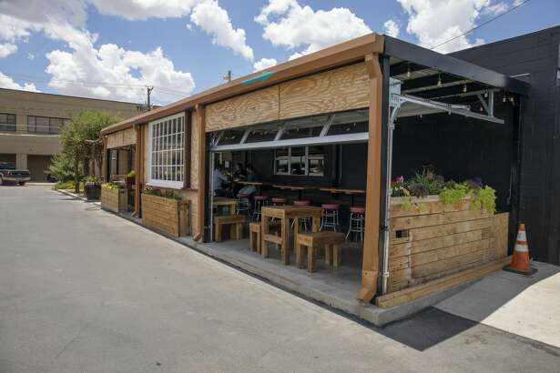 Taco DiVino as seen on Friday, July 24, 2020 at 111 West Oak Avenue. Local eateries provide outdoor seating which is considered a moderate to low risk transmission point for coronavirus.