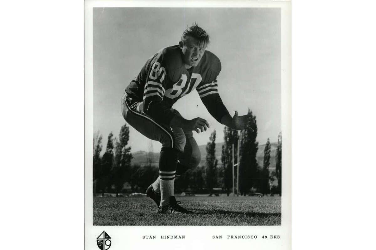 Football - San Francisco 49ers. Stan Hindman. San Francisco 49ers.