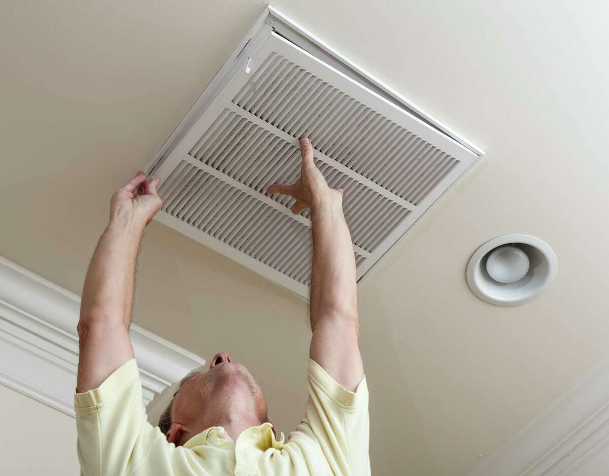 All of the inside air in your home eventually passes through the HVAC system, so that's a good place to focus sanitation efforts.