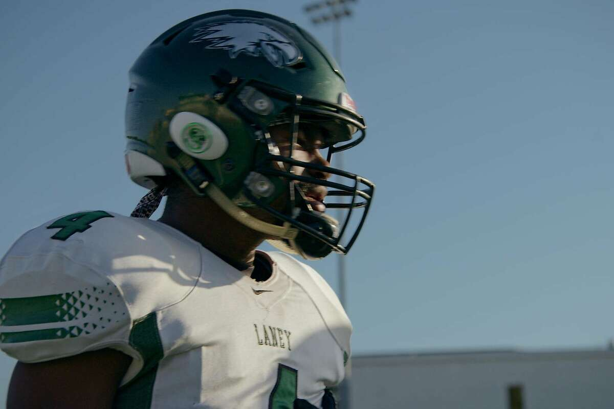 Sophomore Dior Walker-Scott had a team-high 456 receiving yards while passing for 199 and rushing for another 151 for Laney College last season. Laney is featured in the fifth season of the Netflix series