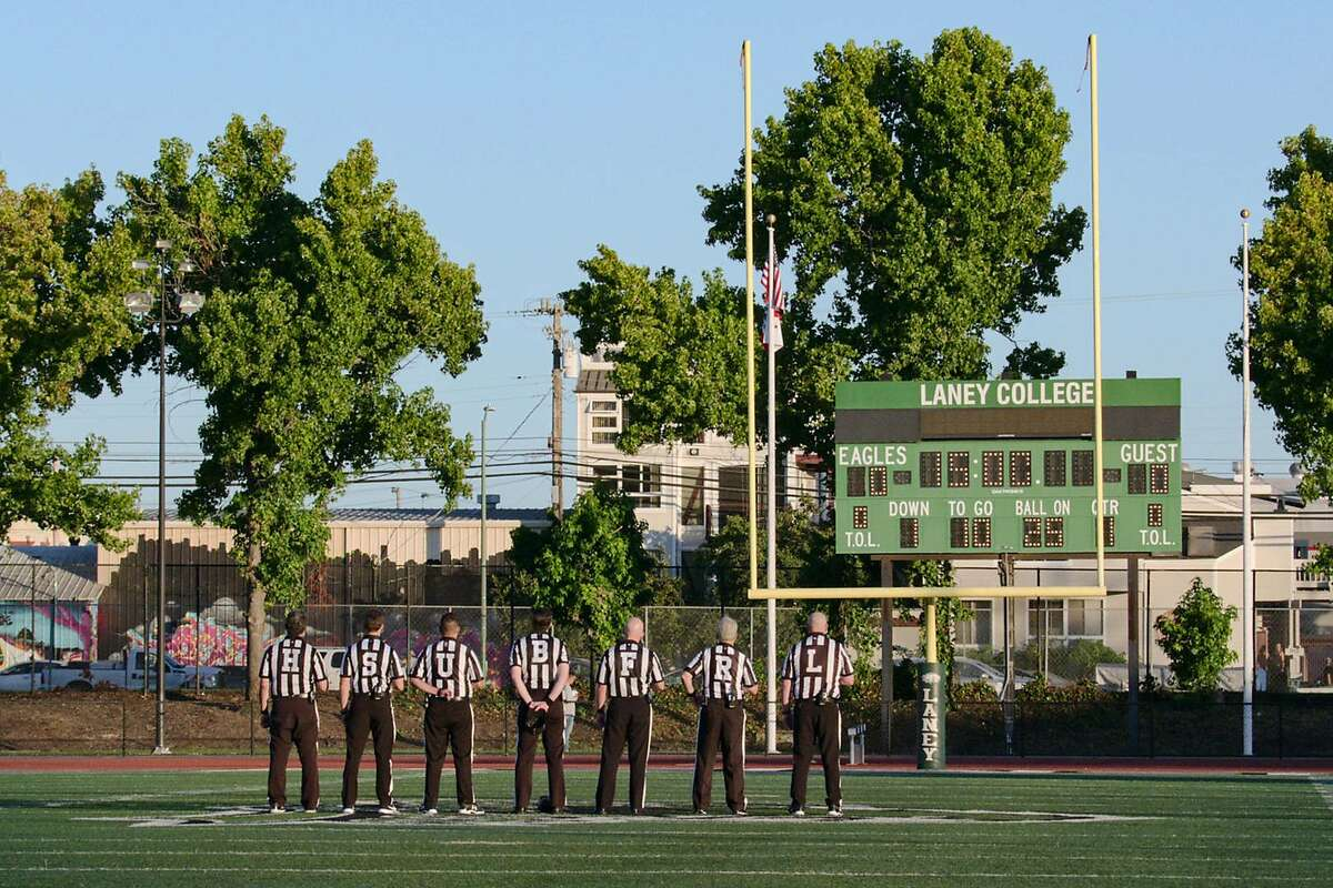 The Laney College football team is featured in the fifth season of the Netflix series
