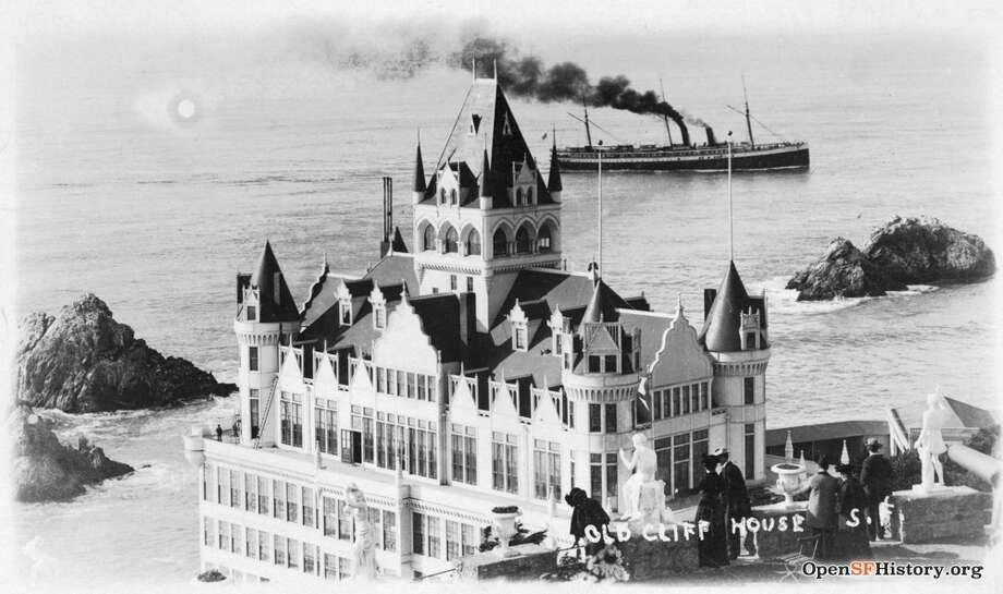 The Cliff House, circa 1900 Photo: OpenSFHistory