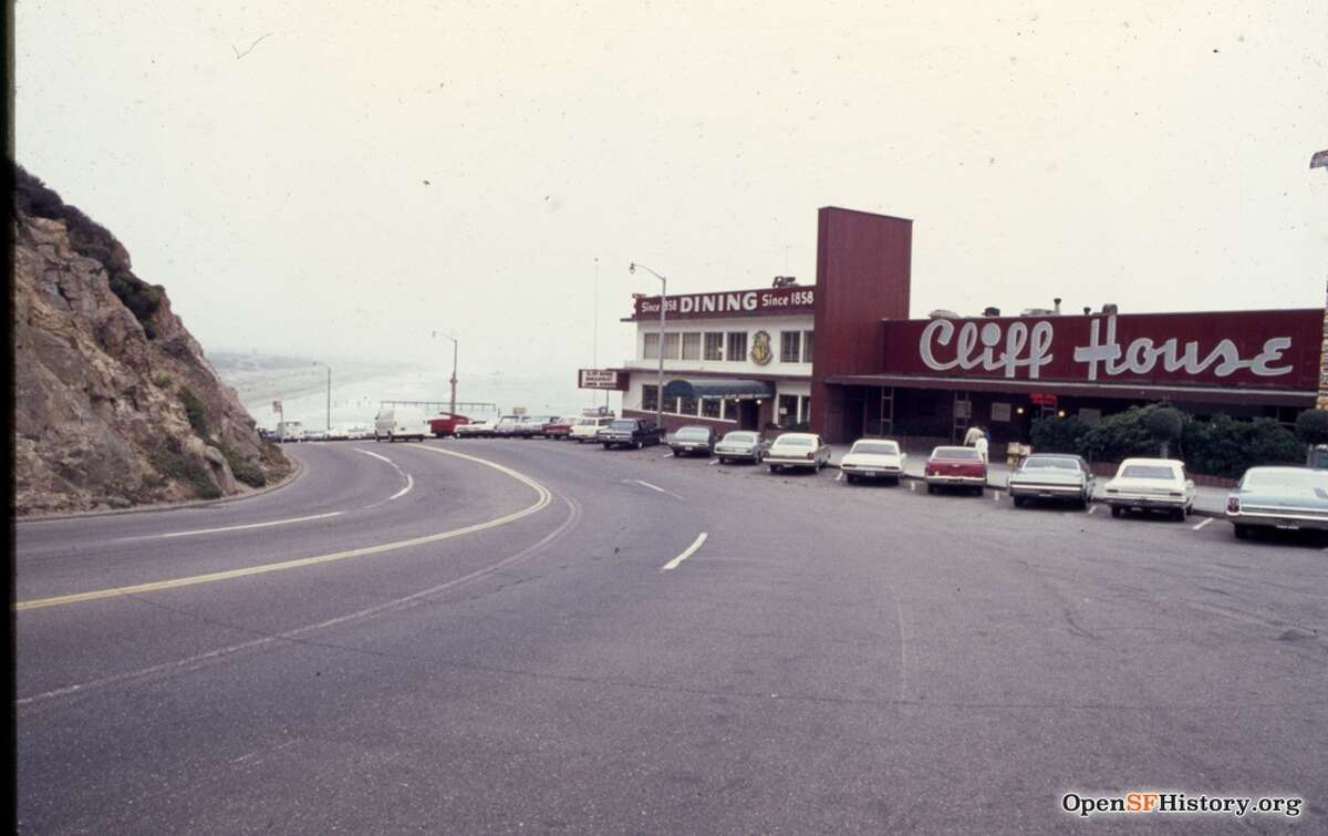 The Cliff House in 1968