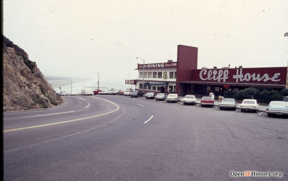 The Cliff House in 1968 Photo: OpenSFHistory