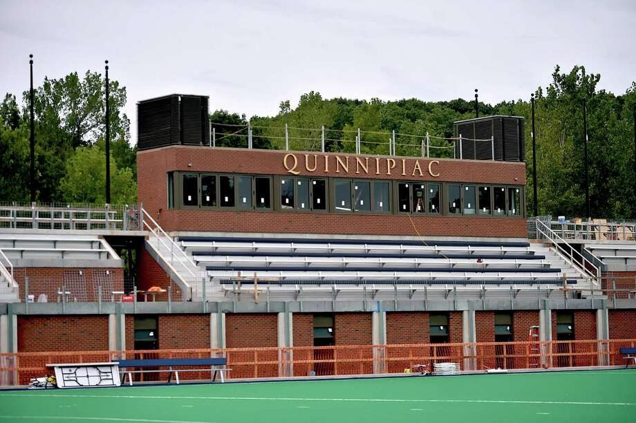 Quinnipiac's athletic facilities at the Mount Carmel Campus in Hamden in 2017. Quinnipiac and other MAAC schools are waiting to see whether the NCAA will cancel this year's fall tournaments. Photo: Catherine Avalone / Hearst Connecticut Media / New Haven Register