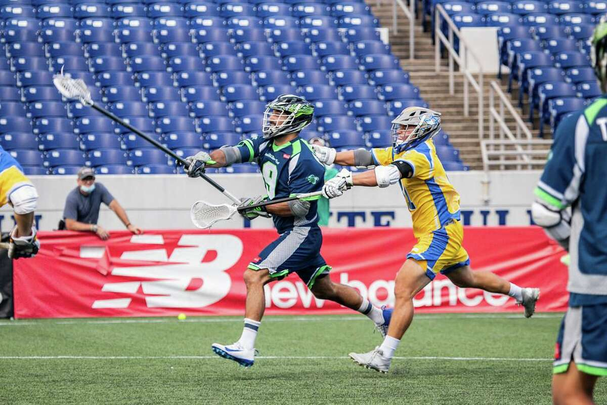 New Fairfield's CJ Costabile had a goal in Chesapeake's loss to Connecticut on Friday. The teams will meet again in the Major League Lacrosse semifinals on Saturday.