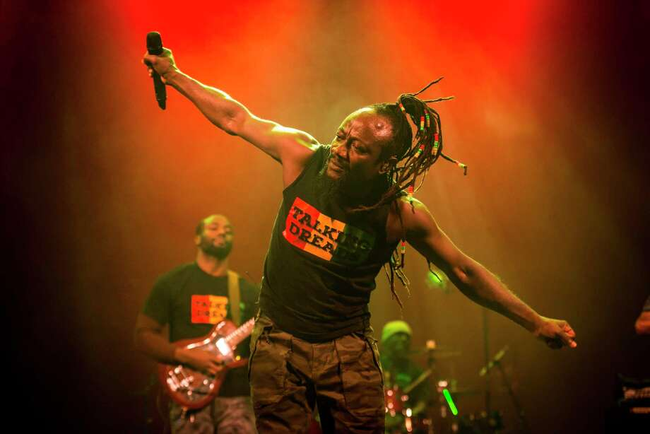 Mystic Bowie's Talking Dreads perform Aug. 7 and 8 in Westport's Imperial Parking Lot, as part of the Supper & Soul drive-in tailgate concert series. Photo: Jacob Blickenstaff / Contributed Photo / Jacob Blickenstaff 2018