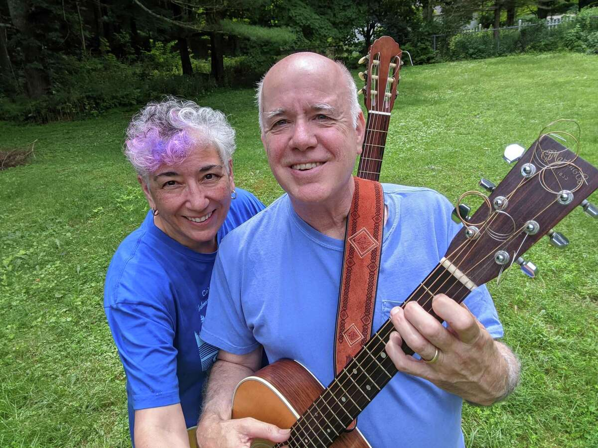 Village Music School founder Kevin Dolan and his wife, co-owner and instructor, Josephine Cannella. The school is located in Cornwall.