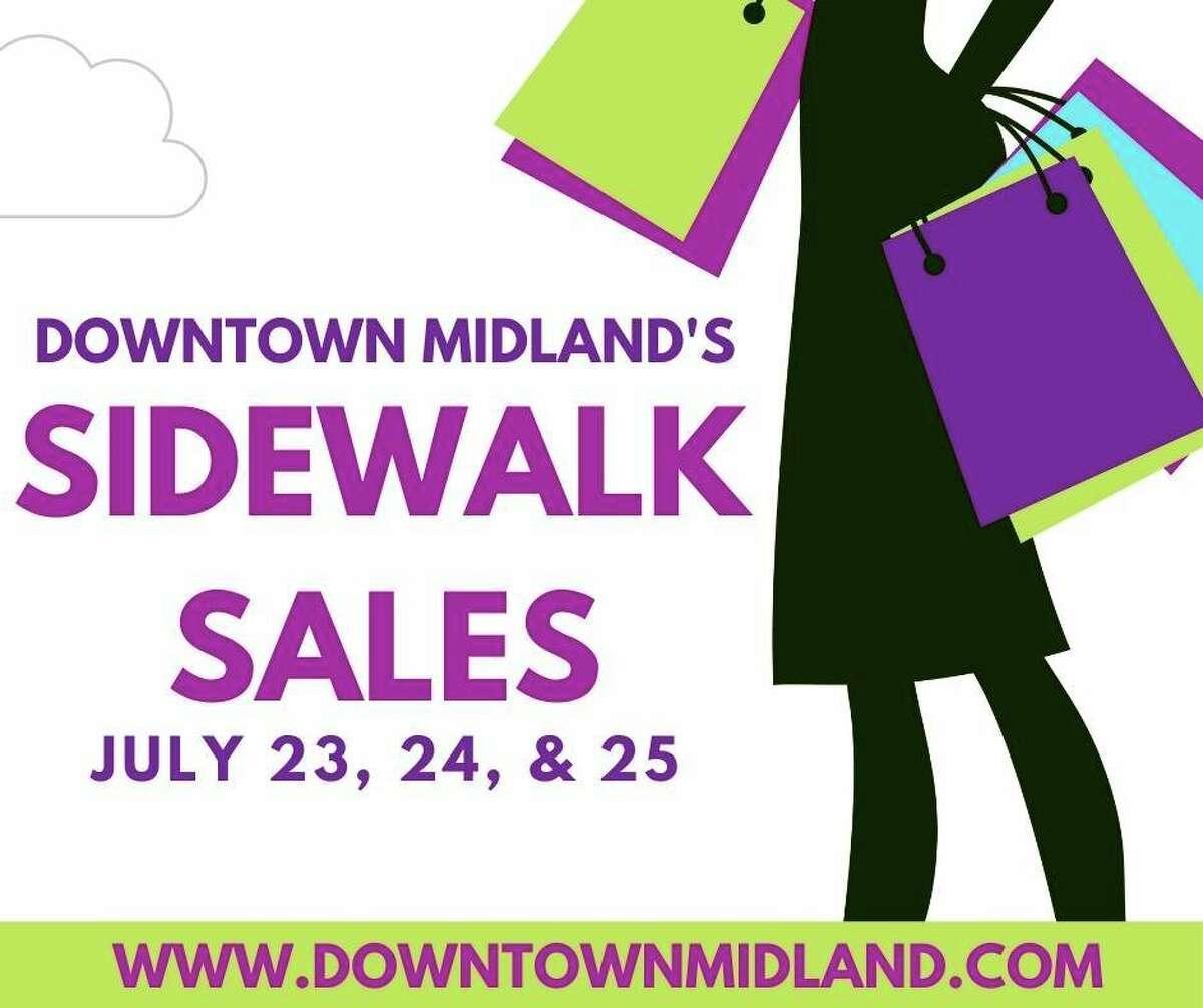Saturday, July 25: Downtown Midland Sidewalk Sales is set for downtown Midland. (Photo provided/DowntownMidlandMI)