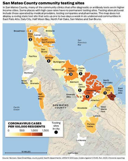 Richer Whiter Bay Area Cities Got Coronavirus Testing Quickly Low Income Areas Didn T Sfchronicle Com Color an editable map, fill in the legend, and download it for free. got coronavirus testing quickly