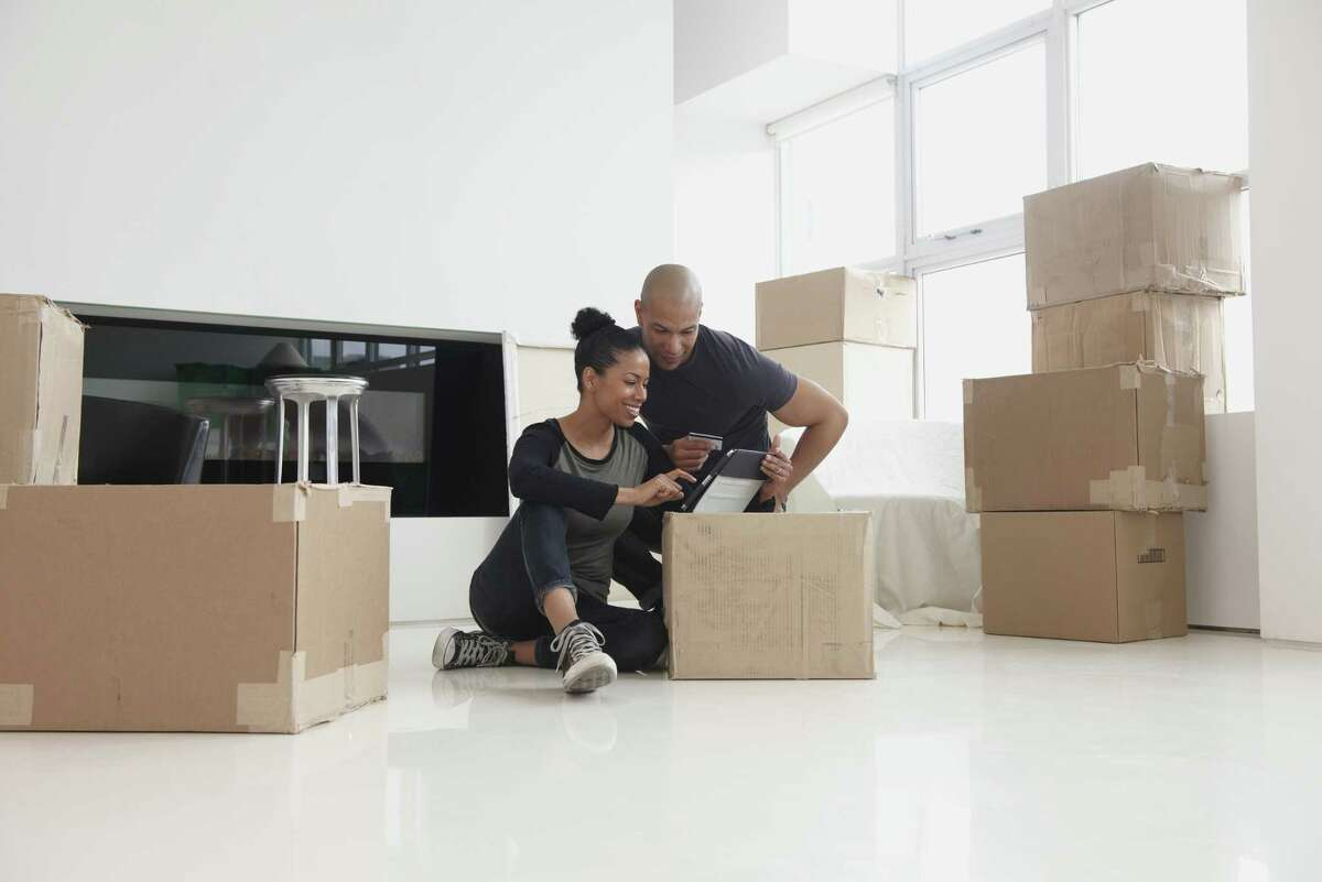 Moving during a pandemic can be stressful, but one thing is steady: The need for good boxes and packing materials. (Getty Images)