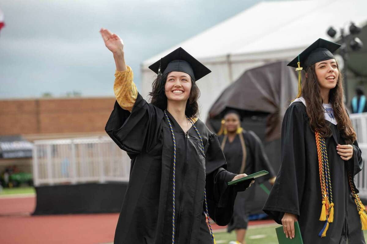 Quest Early College had 94 students cross the stage during a graduation ceremony on Saturday.