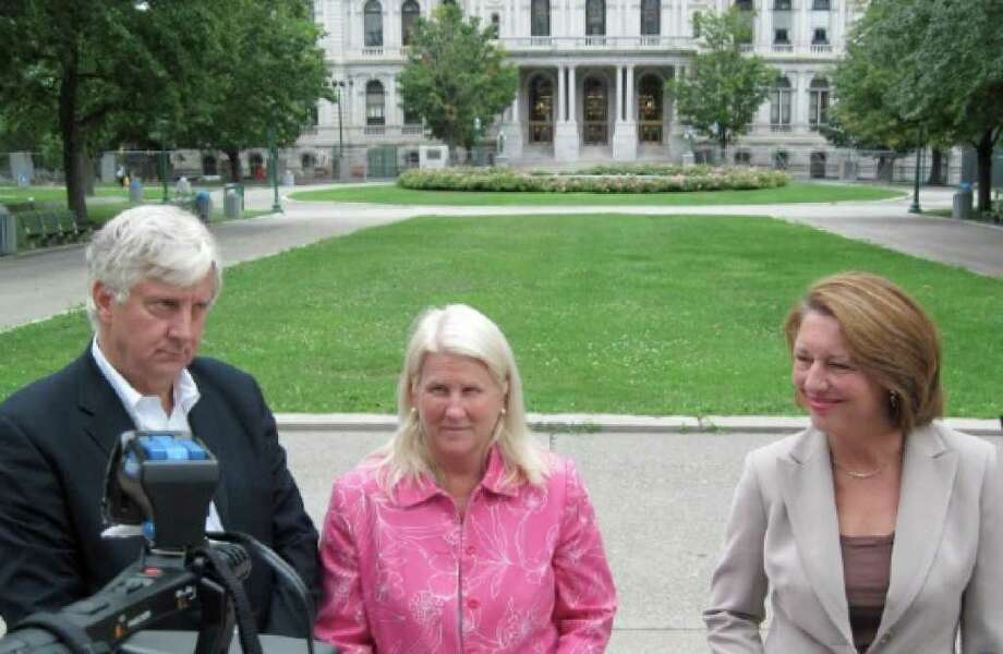 Bill Samuels, Sue Savage and Joanne Yepsen. (Times Union/Rick Karlin)