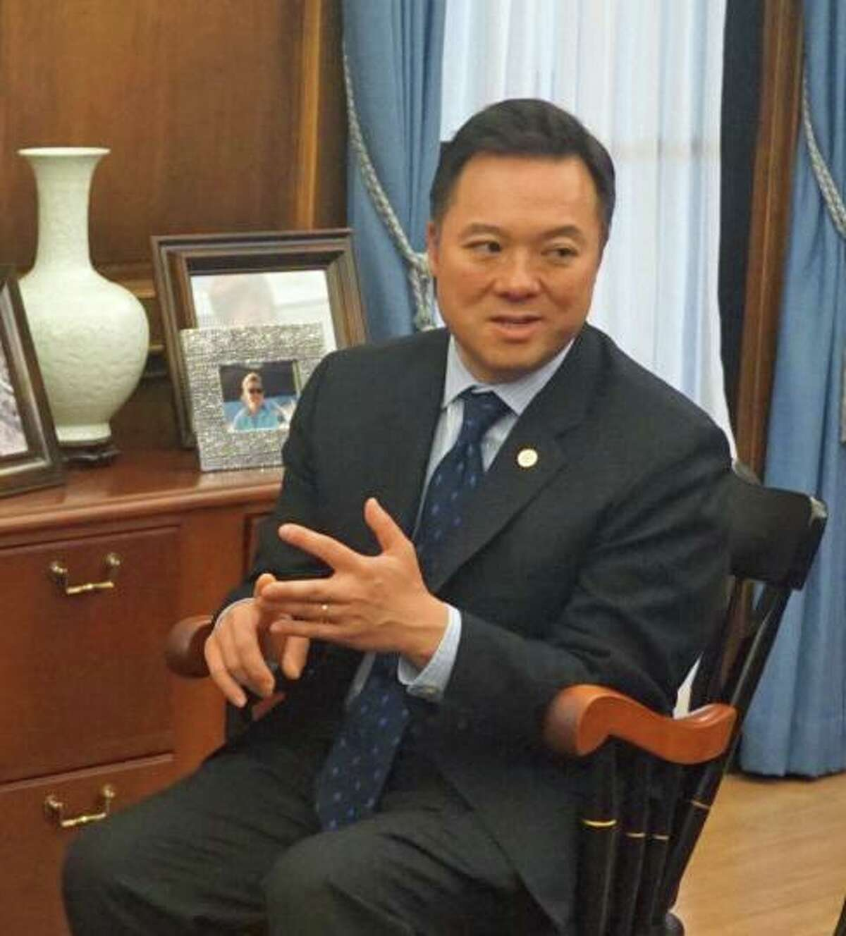 Attorney General William Tong was asked to provide a legal opinion of a section dealing with the Office of Inspector General to investigate police misconduct in the police accountability bill passed by the State House of Representatives.