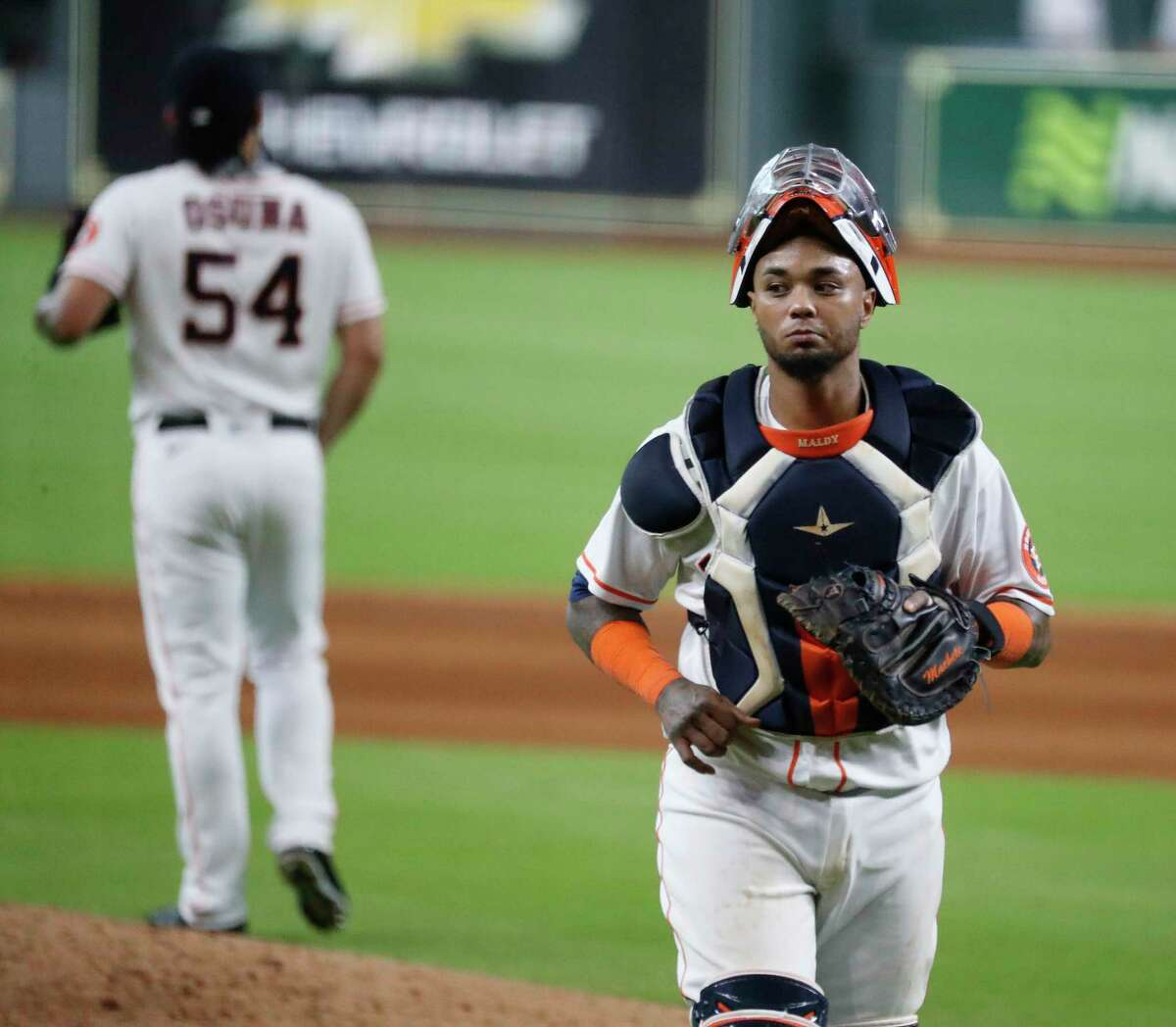July 25: Astros 7, Mariners 2 Record: 2-0 Houston Chronicle's Player of the Game Martin Maldonado 2 for 4/ 2 RBI