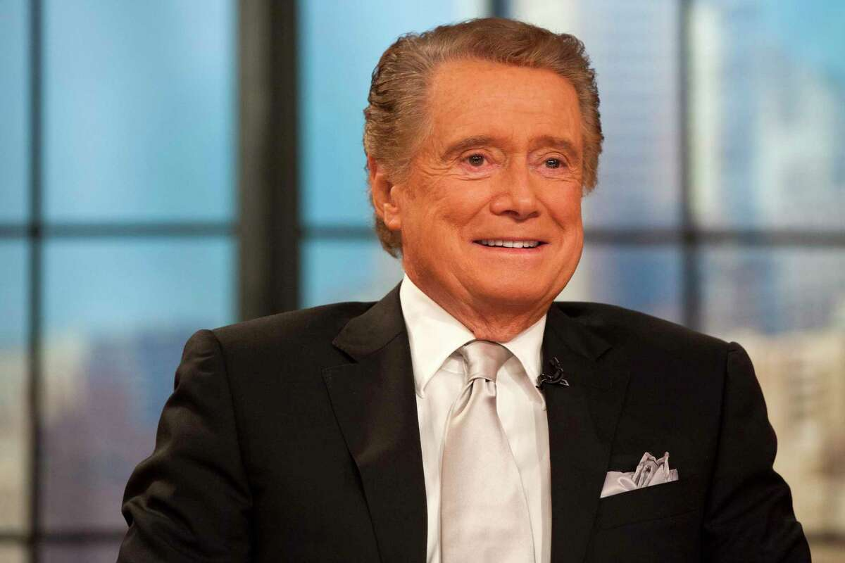 FILE - In this Nov. 18, 2011 file photo, Regis Philbin appears on his farewell episode of