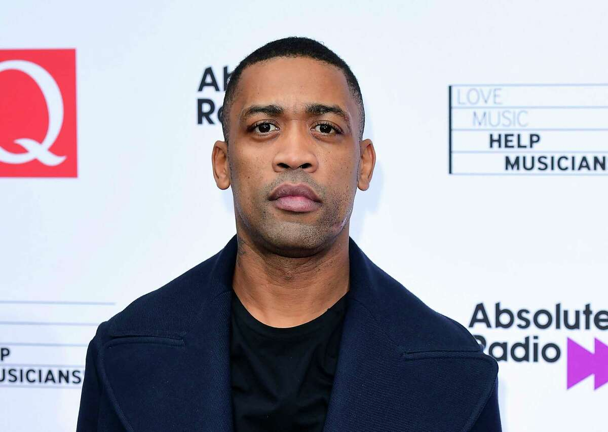 FILE - In this file photo Oct. 18, 2017, grime music artist Wiley during an event in London. British Police are investigating after a stream of anti-Semitic comments were posted on Wileya€™s Instagram and Twitter accounts, Wiley's management company have dropped the artist, and twitter have banned him for seven days after posts Friday and Saturday July 25, 2020. (Ian West/PA via AP)