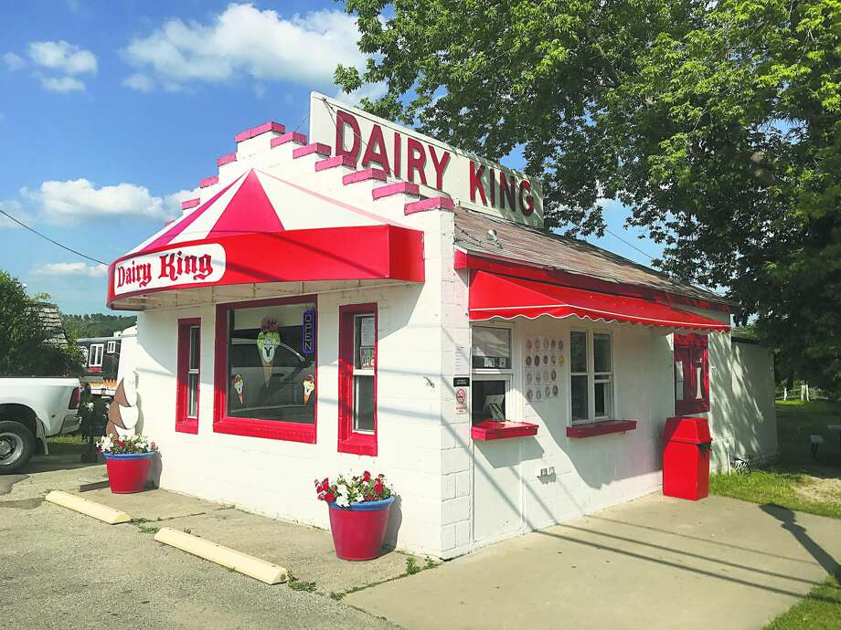 The iconic Dairy King in Beulah has new owners in the Clarke family, of Bear Lake. Photo: Robert Myers/Benzie County Record Patriot