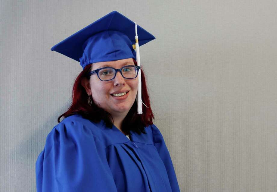 Meredith Baber of Greenwich and New York City is among six students who have graduated from Vista Life Innovations. Photo: Contributed Photo /