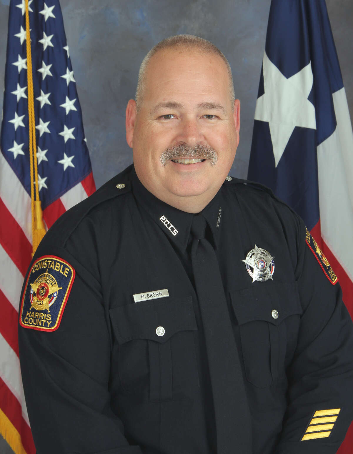Deputy Mark Brown, 53, died on July 25, 2020, after battling COVID-19 for about a month.