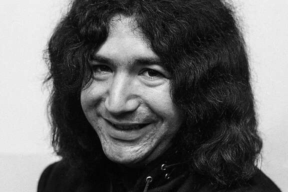 Jerry Garcia of the Grateful Dead poses for a portrait, November 29, 1966