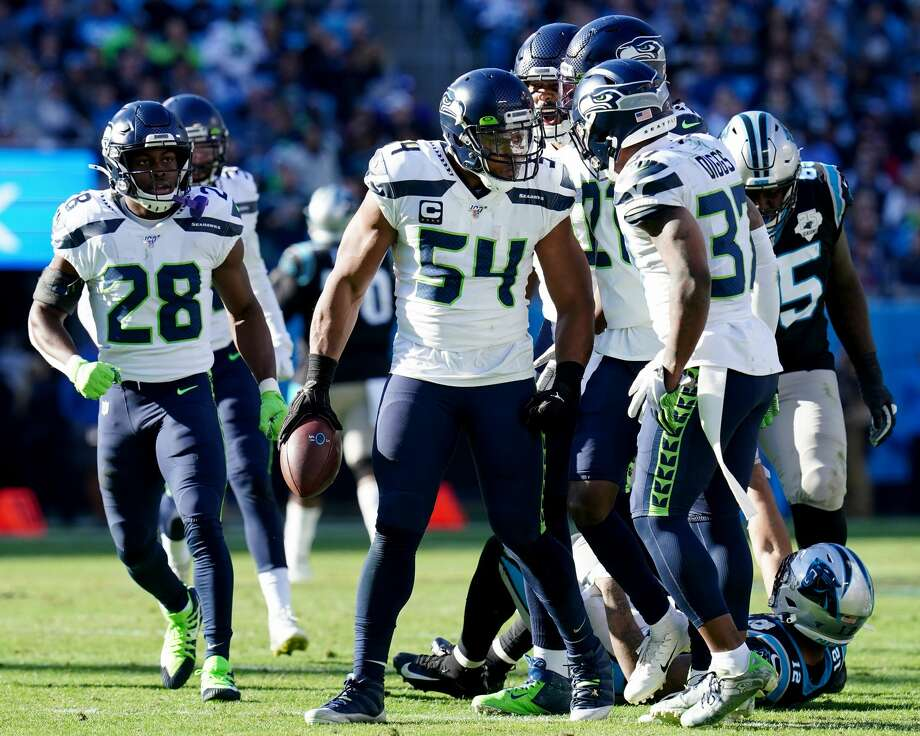 """Seattle Seahawks linebacker Bobby Wagner says that his team gets another """"playmaker"""" for the defense in trading for All-Pro safety Jamal Adams. Photo: Jacob Kupferman/Getty Images / 2019 Jacob Kupferman"""