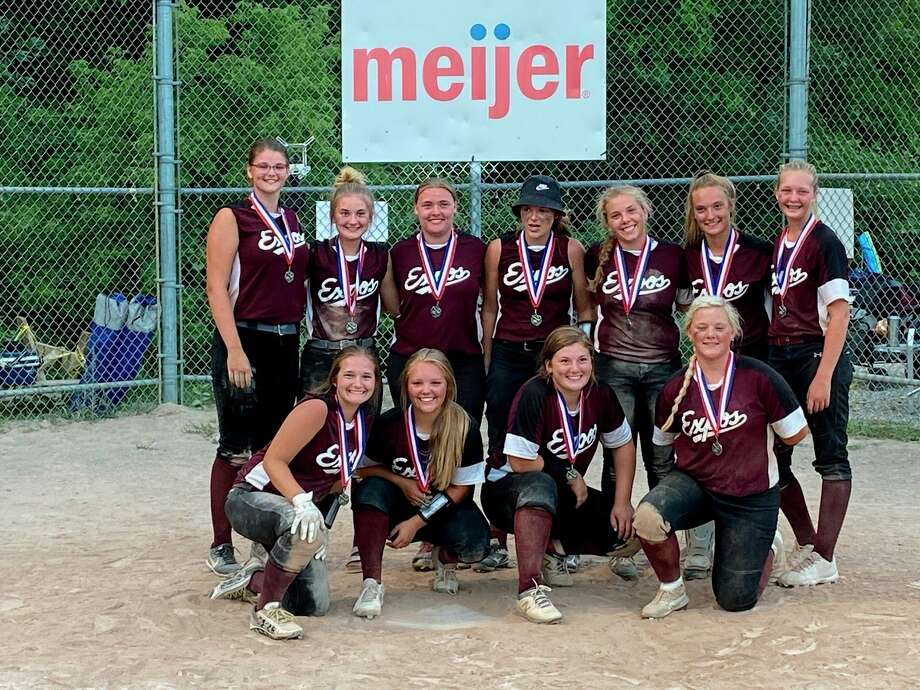 The Michigan (Big Rapids-Reed City-Evart) Expos took second at the Rockford Tournament last weekend. (Courtesy photo)