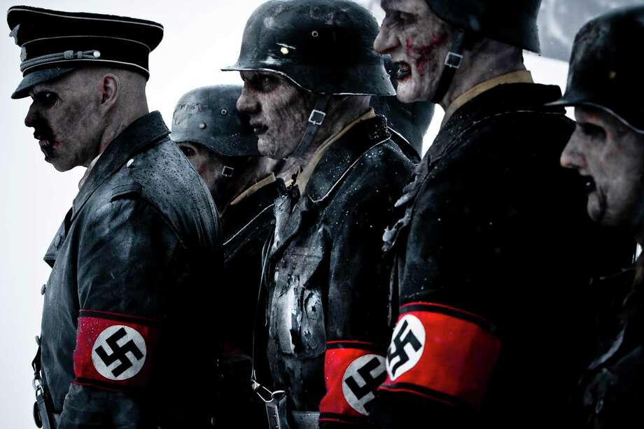 German officers from WWII rise from the grave in 'Dead Snow' and they are not in a good mood. Photo: Sveinung Svendsen / Euforia Film