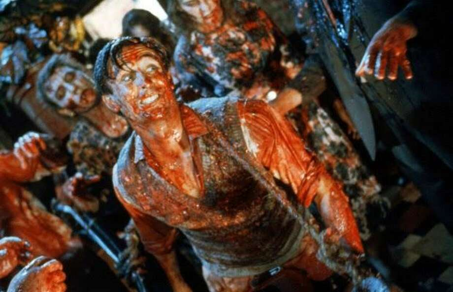 Peter Jackson's early zombie film 'Dead Alive' was originally titled 'Braindead.' Photo: Lions Gate Entertainment