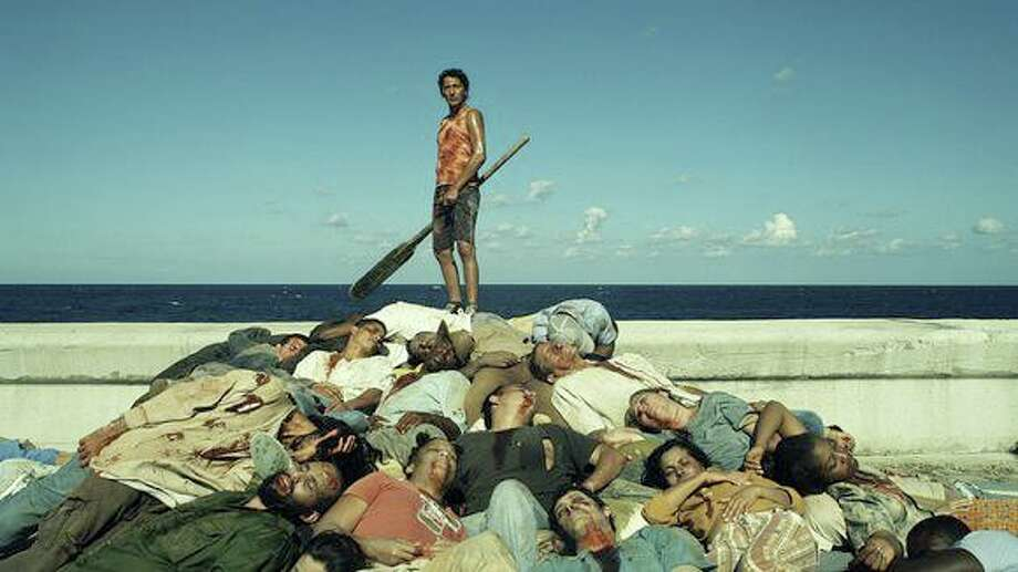 Zombies take over the tropical streets of Havana in 'Juan of the Dead.' Photo: Outsider Pictures