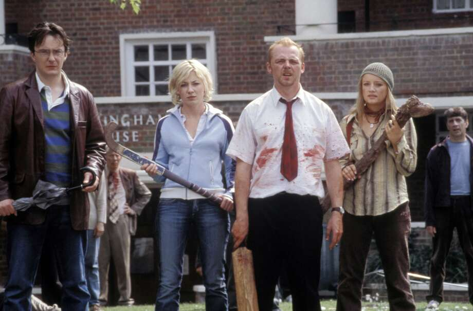 Edgar Wright's 'Shaun of the Dead' gave us zombies we could laugh at. Photo: ROGUE PICTURES