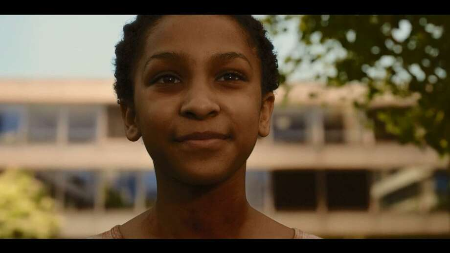 Sennia Nanua wonderfully plays 'The Girl with All the Gifts' in a story where there are many shades of gray between human and undead. Photo: Saban Films