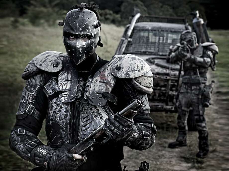 The Australian movie 'Wyrmwood: Road of the Dead' puts zombies in the middle of a 'Mad Max'-style Outback apocalypse. Photo: IFC