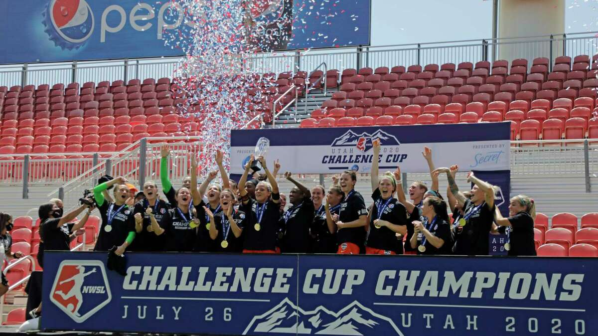 Houston Dash2020 NWSL Challenge Cup championsThe Houston Dash beat the Chicago Red Stars 2-0 to win the 2020 Challenge Cup.