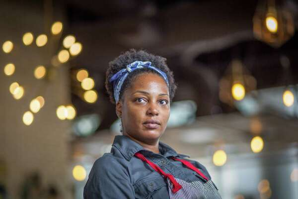 Chef Dawn Burrell of Kulture photographed Saturday, Aug. 17, 2019, in Houston.