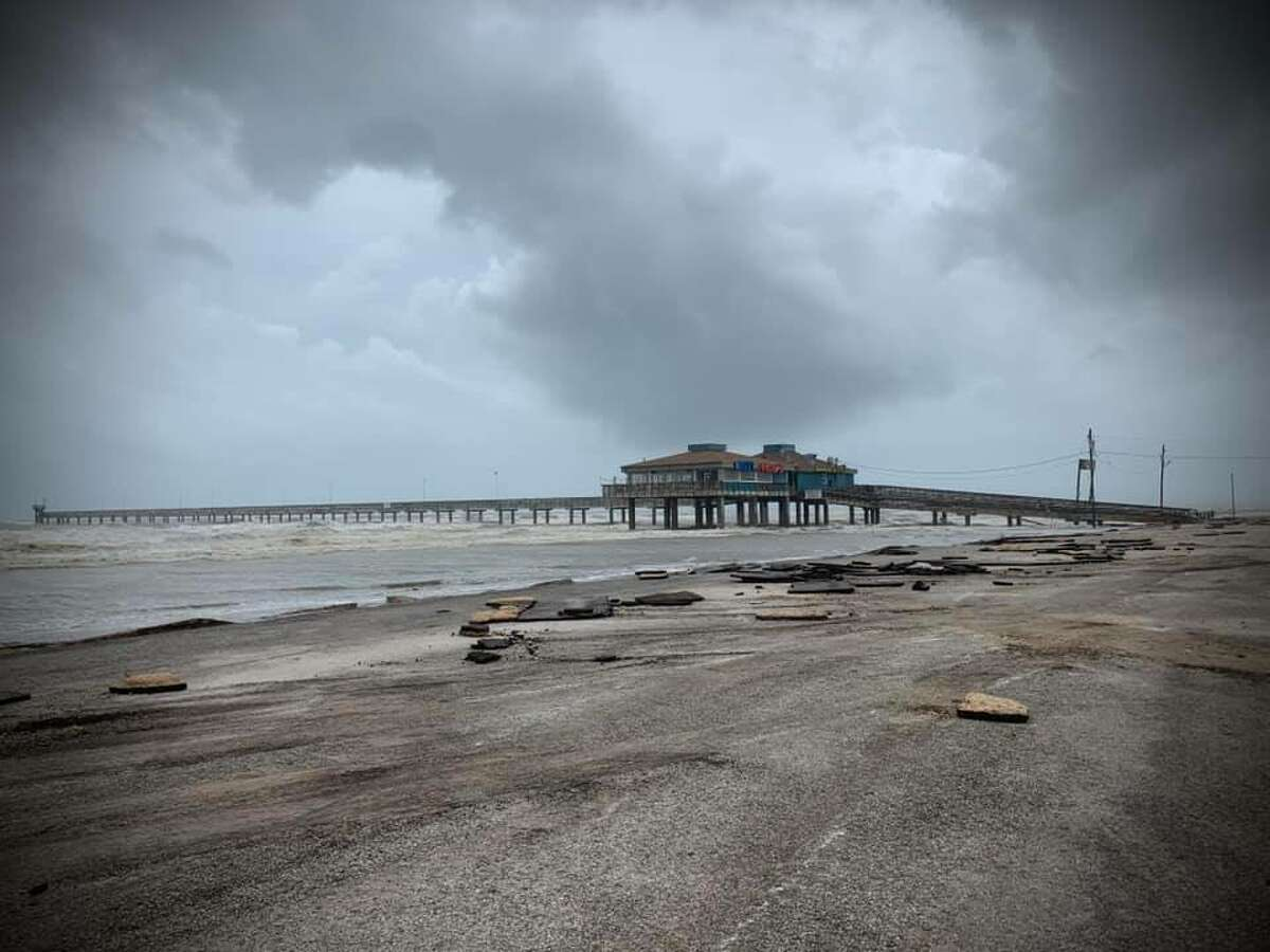 According to Nueces County Commissioner Brent Chesney, the storm caused significant damage to the pier. The pier and the surrounding area is closed until further notice as officials clean up the debris caused by Hurrican Hanna, Chesney wrote on his Facebook page.