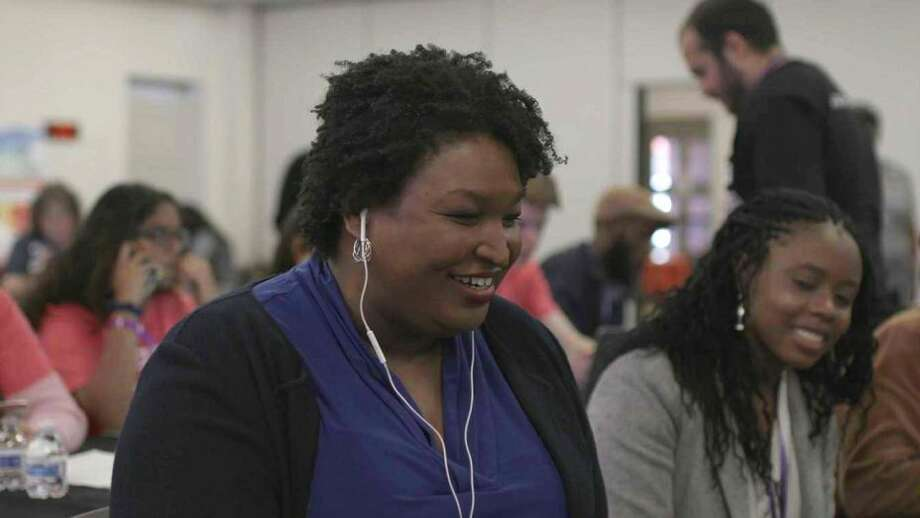 Stacey Abrams, the first Black woman to become the gubernatorial nominee for a major party in the United States. Photo: Courtesy Of Amazon Studios