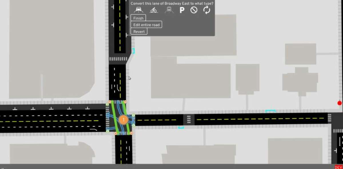 Available for iOS and Windows, the user gets a bird's eye view of some of Seattle's frequented streets and intersections. Based upon Carlino's research with Open Street Map, the street traffic mirrors that of a normal day of transit in the Emerald City, down to the timing of stoplights.