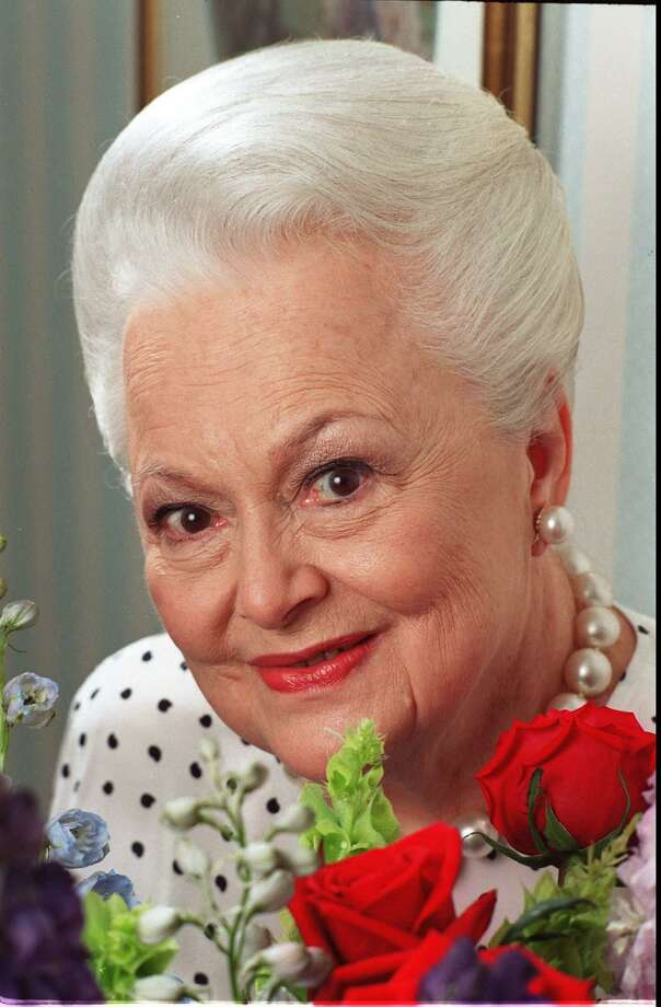 "Actress Olivia de Havilland died on July 25 at age 104. She is best known for her performance as Melanie Wilkes in the film, ""Gone With The Wind."" Photo: JIM COOPER / ST / AP"