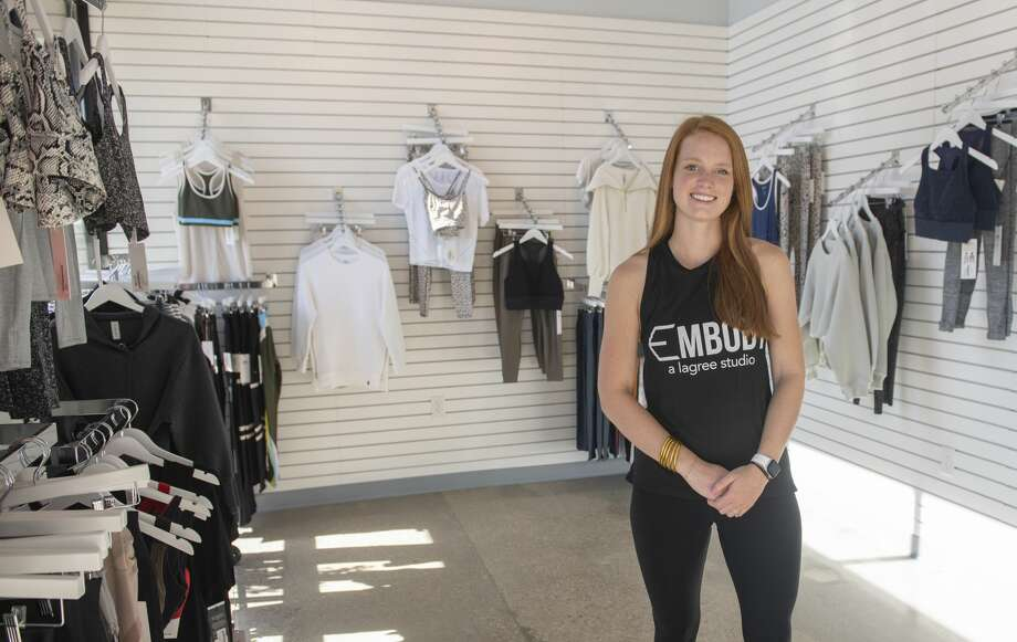 Paige Nelson Purvis is the owner of Embody, a Lagree Studio. She said Lagree is similar to Pilates but is high-intensity and low-impact. Photo: Tim Fischer/Midland Reporter-Telegram