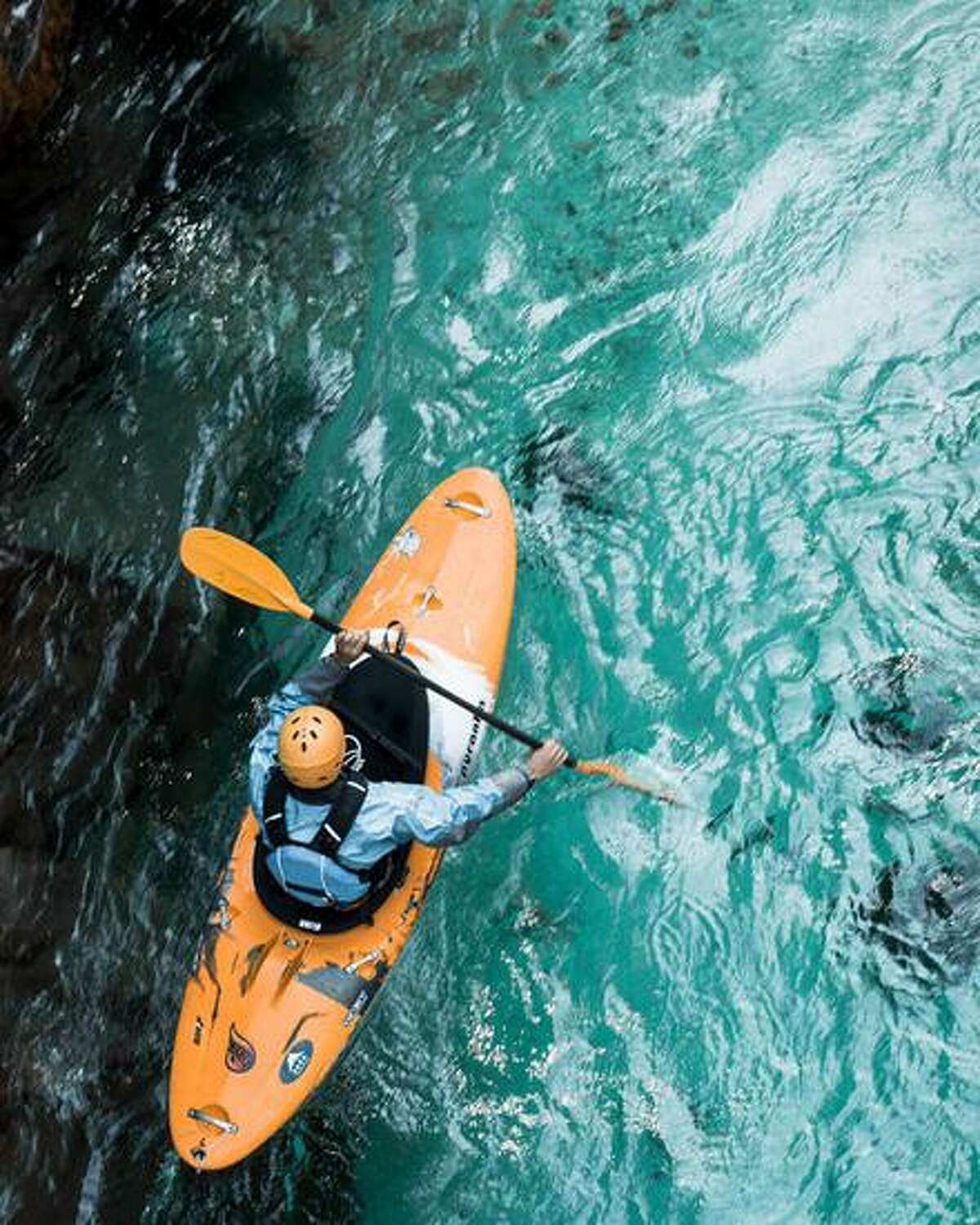 Kayaking is one of the many experiences one can bid in in Darien Scouts auction.