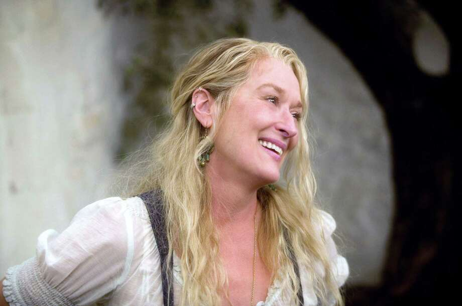 "In this image released by Universal Pictures, Meryl Streep is shown in a scene from, ""Mama Mia!"" Photo: Peter Mountain / AP / Universal Pictures"