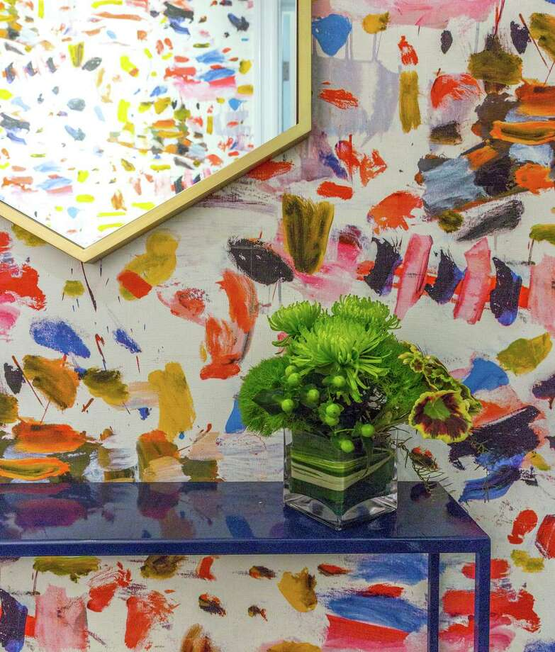 Kelly Finley, founder and principal designer of Joy Street Design likes to incorporate vibrant flourishes into her interiors. Photo: Sen Creative / Lauren Edith Andersen