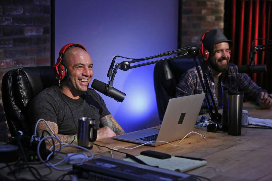 Pictured: (l-r) Joe Rogan, Duncan Trussell. Photo: Syfy/NBCU Photo Bank/NBCUniversal Via / 2013 Syfy Media, LLC